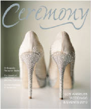 Sarah and Haben's Featured Wedding in Ceremony Magazine