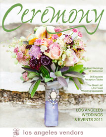 Brooke and Cameron's Featured Wedding in Ceremony Magazine