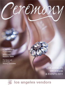 Lauren and Rob's Featured Wedding in Ceremony Magazine